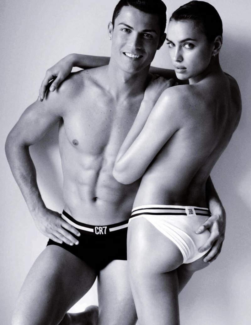 Ирина Шейк (Irina Shayk) и Криштиану Роналду (Cristiano Ronaldo) для Vogue Испания 4