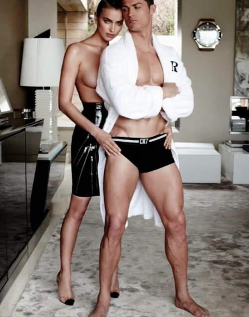 Ирина Шейк (Irina Shayk) и Криштиану Роналду (Cristiano Ronaldo) для Vogue Испания 9
