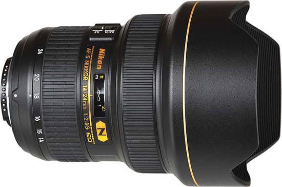 Nikon AF-S Nikkor 14-24 мм f2.8G ED