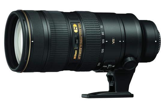 Nikon AF-S Nikkor 70-200 мм f2.8G ED VR II
