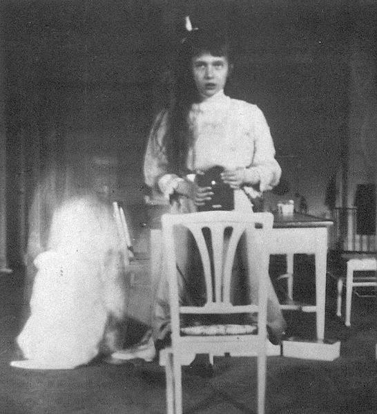 Селфи княжны Анастасии Романовой, 1914 год