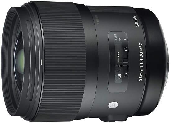 Sigma 35 мм F1.4 DG HSM
