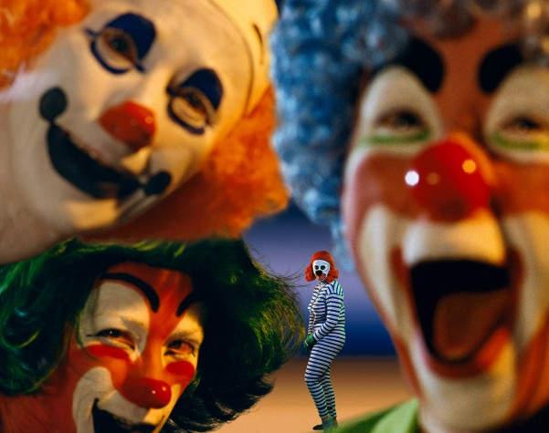 Синди Шерман (Cindy Sherman) Clowns 1