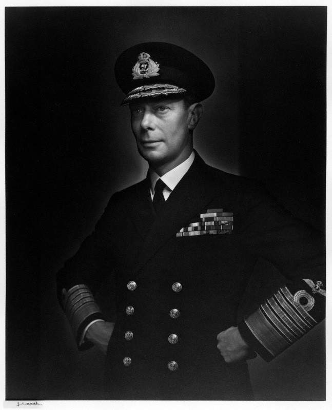 NPG P490(35); King George VI by Yousuf Karsh