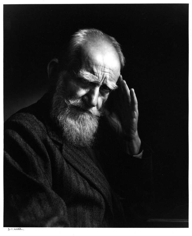 NPG P490(70); George Bernard Shaw by Yousuf Karsh