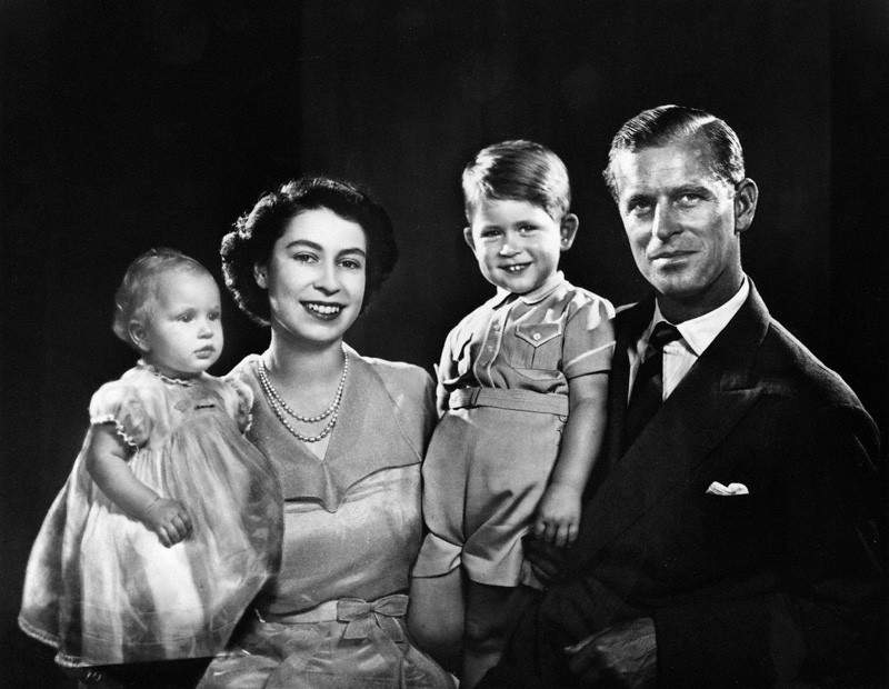NPG P347; The Royal Family by Yousuf Karsh