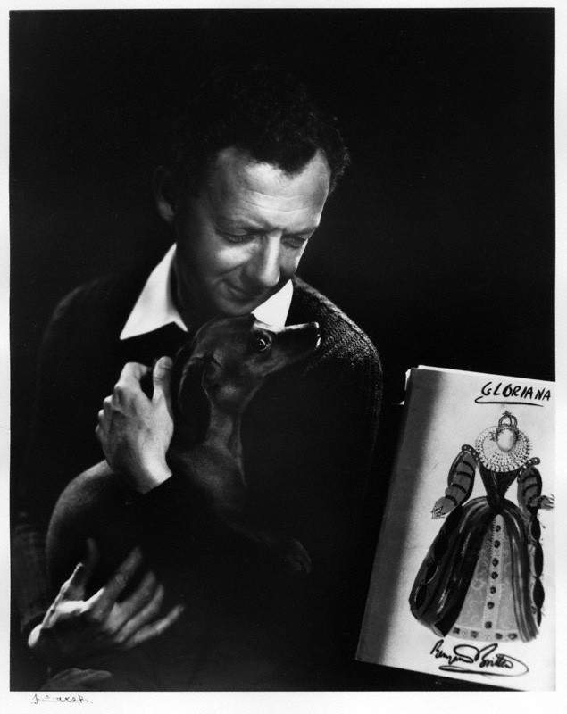 NPG P490(14); Benjamin Britten by Yousuf Karsh