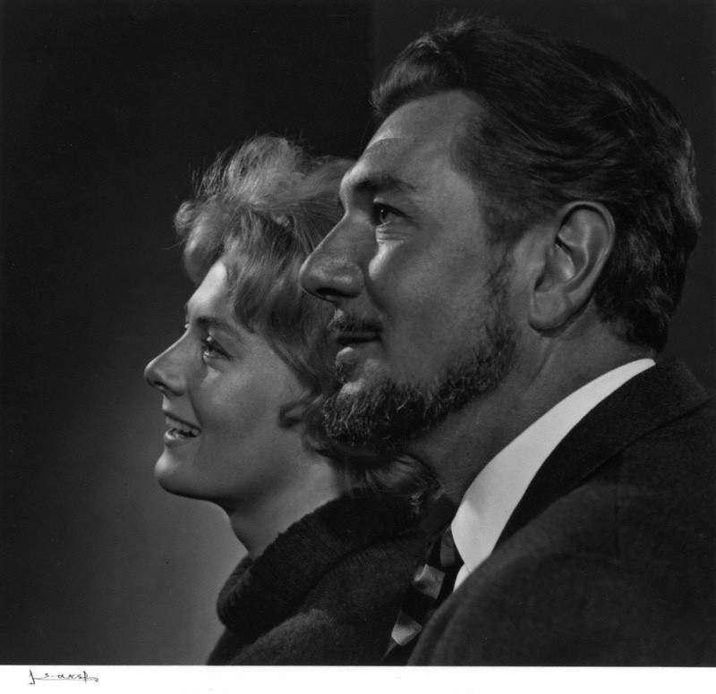 NPG P490(67); Vanessa Redgrave; Sir Michael Redgrave by Yousuf Karsh