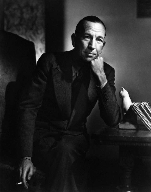 NPG P245; NoÎl Coward by Yousuf Karsh
