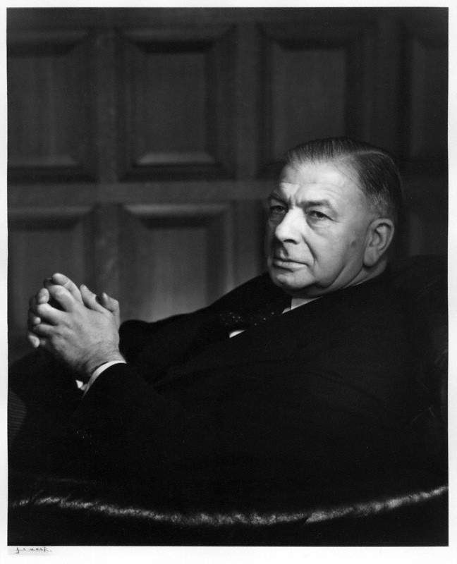 NPG P490(4); Albert Victor Alexander, Earl Alexander of Hillsborough by Yousuf Karsh