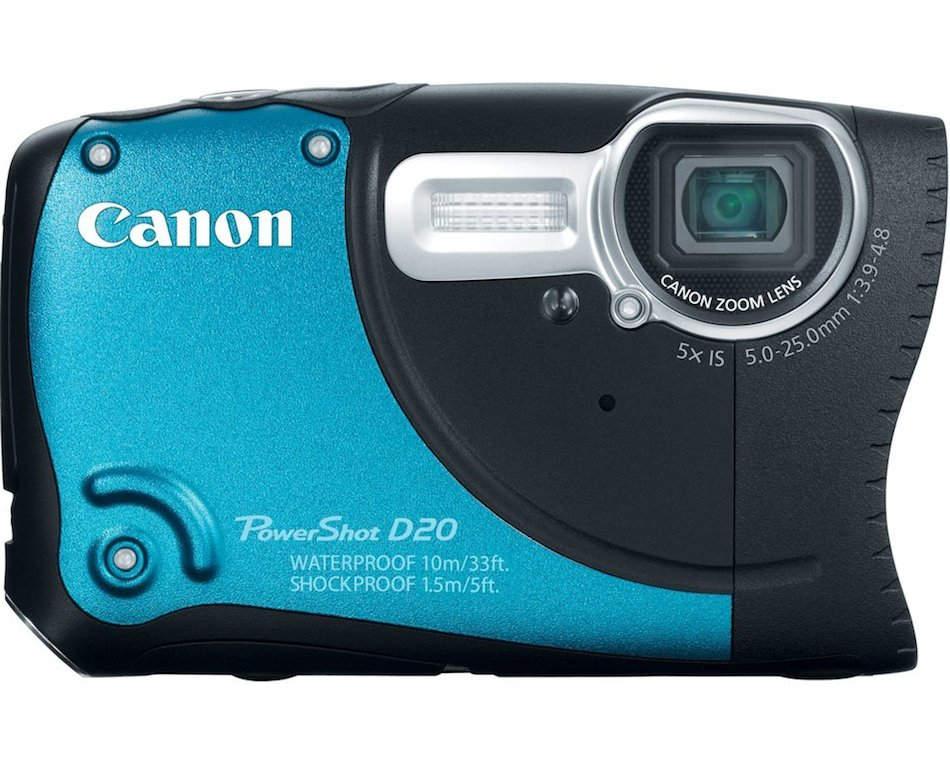 Водонепроницаемый фотоаппарат Canon PowerShot D30