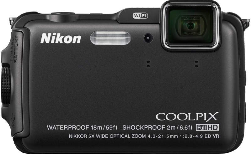 Водонепроницаемый фотоаппарат Nikon Coolpix AW120