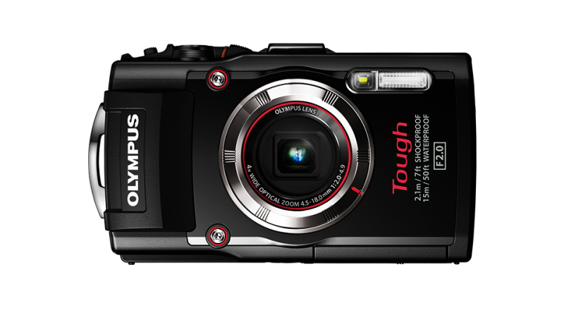 Водонепроницаемый фотоаппарат Olympus Tough TG-3