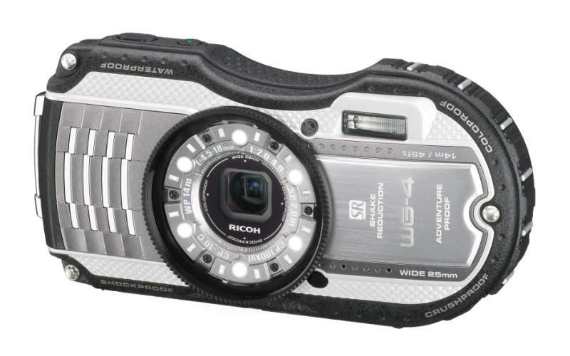 Водонепроницаемый фотоаппарат Ricoh WG-4 GPS