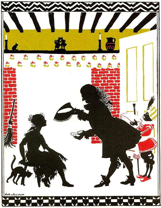 «Золушка» Артура Рэкема, 1919 год
