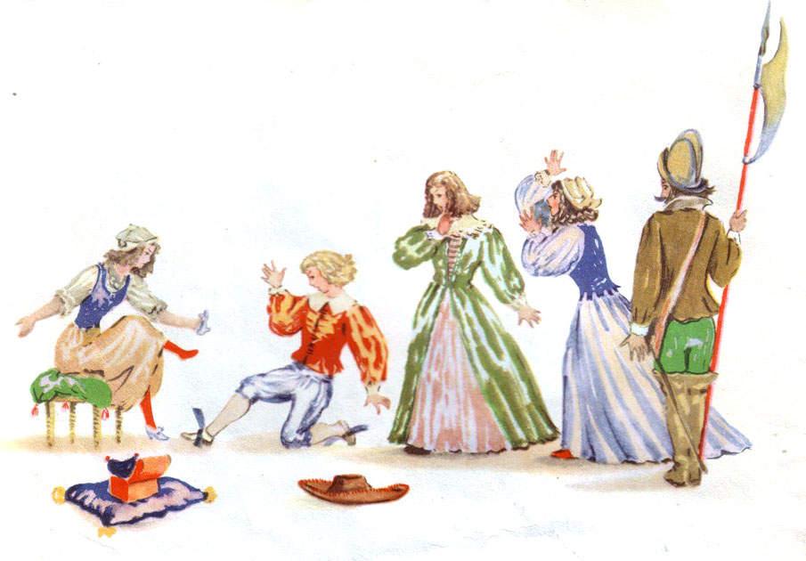 «Золушка» Владимира Конашевич, 1956 год