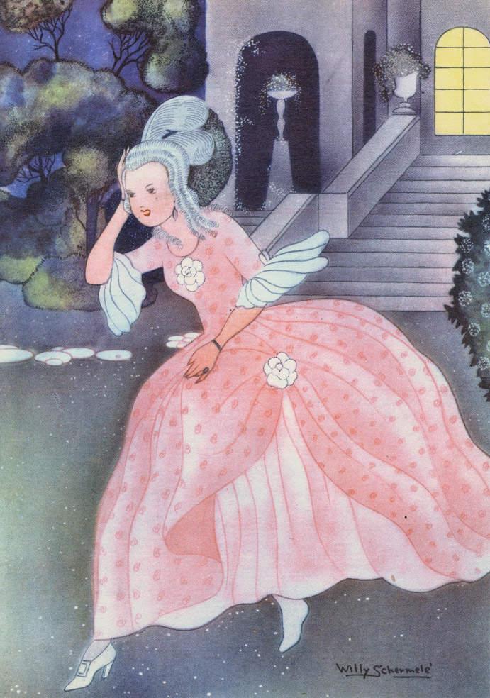 «Золушка», Вильемины Шермель, 1948 год