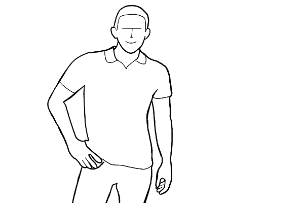 Позы для фотосессии мужчины
