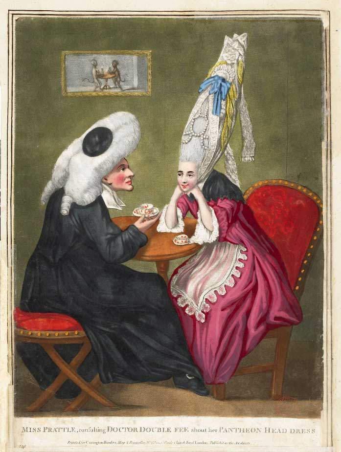 Эволюция женской красоты. Странные тенденции Большой парик