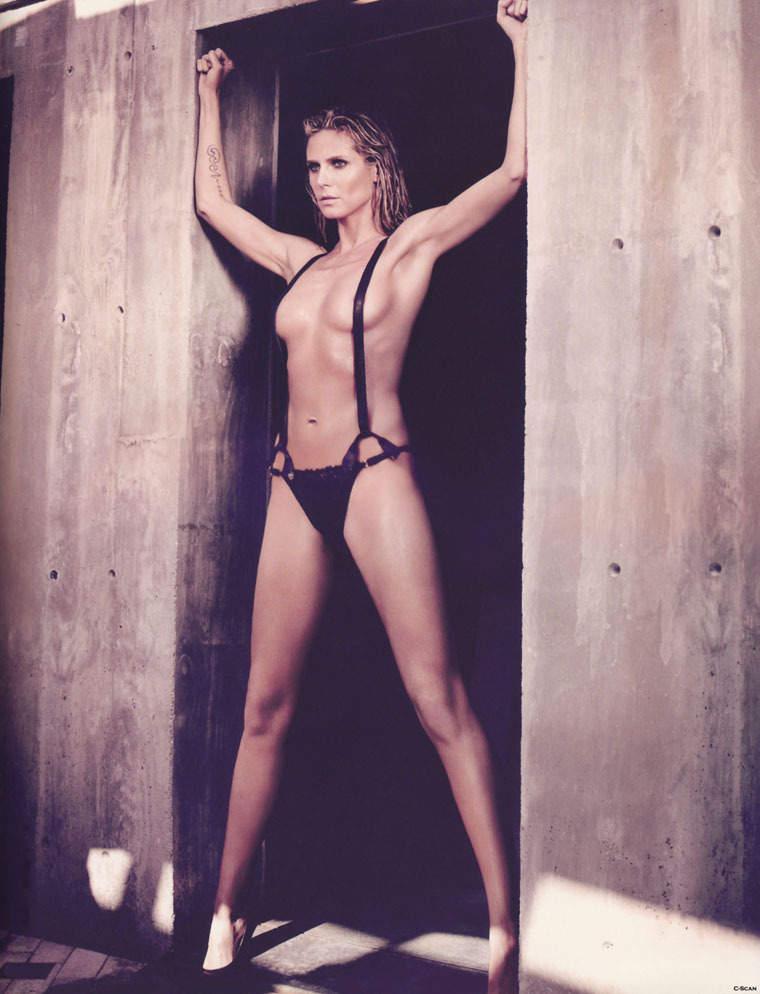 Самые дорогие модели мира. Секусальная фотомодель Heidi Klum
