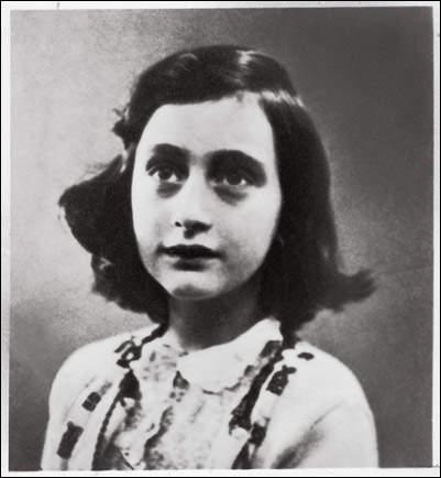 История в фотографиях (1940 - 1941). Фотография Анны Франк, 1941 год