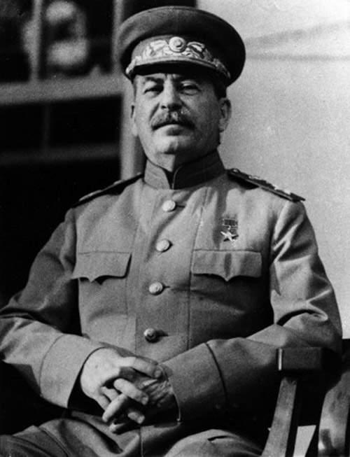 История в фотографиях (1940 - 1941). Фотография Иосиф Виссарионовича Сталина, 1941 год