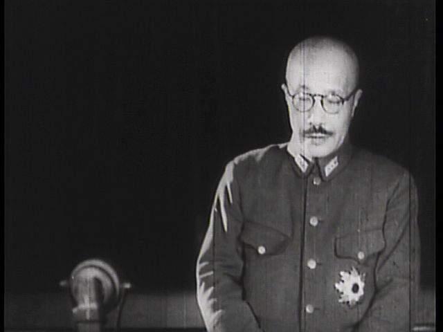 История в фотографиях (1940 - 1941). Фотография Хидэки Тодзио, 1941 год
