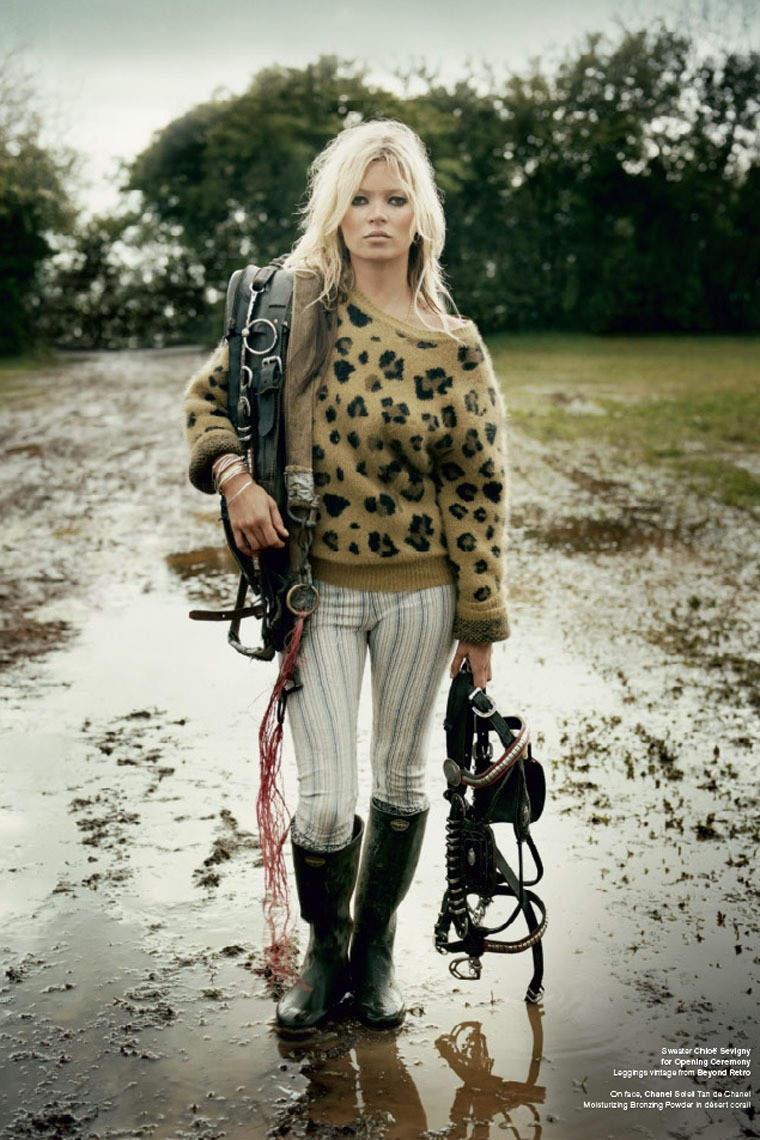 Самые дорогие модели мира. Секусальная фотомодель Kate Moss