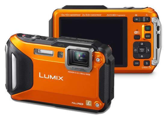 Лучший прочный фотоаппарат Panasonic Lumix TS5 2