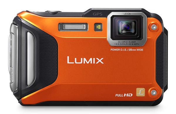 Лучший прочный фотоаппарат Panasonic Lumix TS5