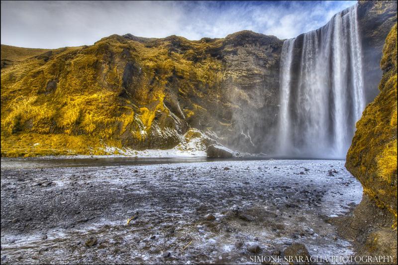 Природа глазами Simone Sbaraglia 8 водопад