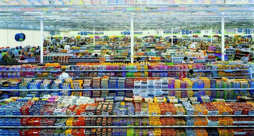 Самые дорогие фотографии в мире. 99 центов. Диптих – 3,8 млн. $