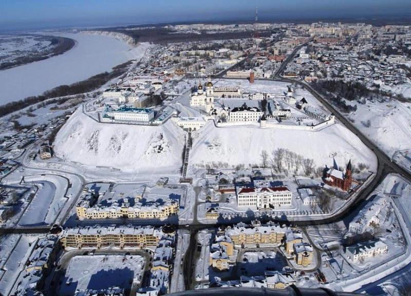 Самые дорогие фотографии в мире. Тобольский Кремль – 1,7 млн. $