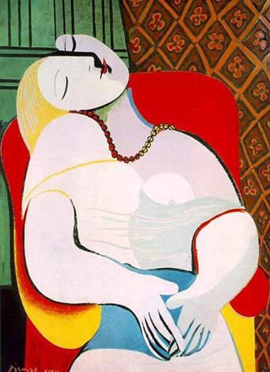 Самые дорогие картины. Пабло Пикассо -La Rêve (Мечта) - 1932 год
