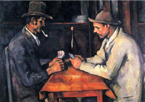 Самые дорогие картины. Поль Сезанн - Игроки в карты – 1892 год 2