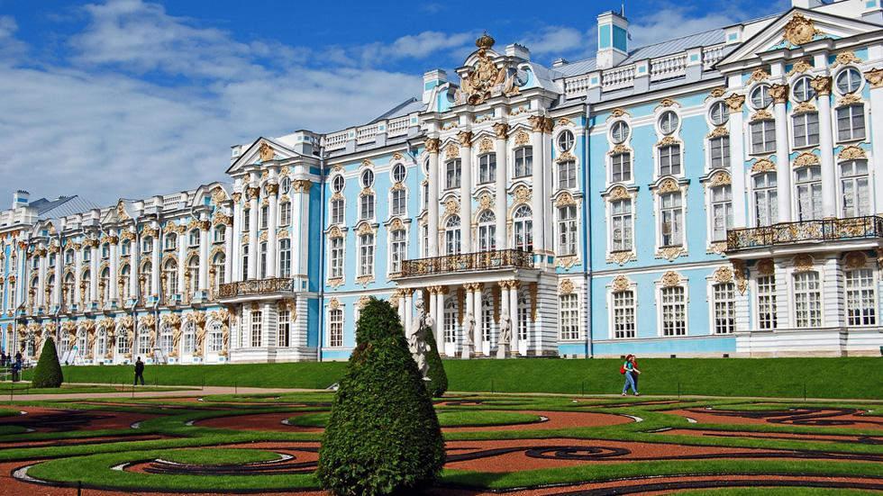 Екатерининский дворец в Санкт-Петербурге  Самые красивые места планеты 16