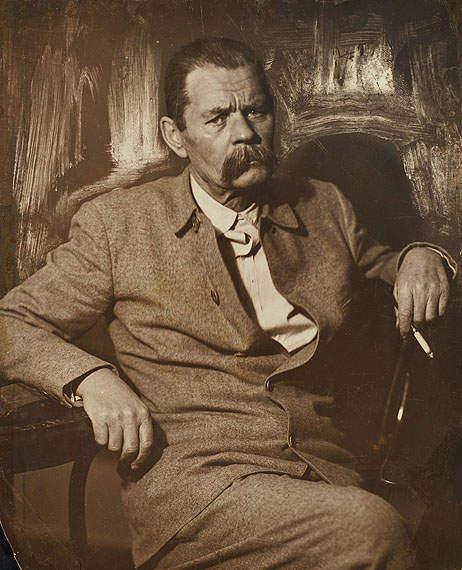 Писатель Максим Горький. Фото: Моисей Наппельбаум.