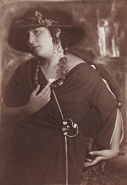 Дочь Ида Наппельбаум. Фото: Моисей Наппельбаум (1921 г.).