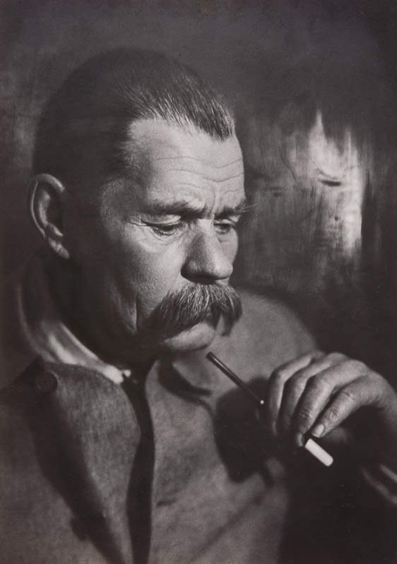 Писатель Максим Горький. Фото: Моисей Наппельбаум (1928 г.)