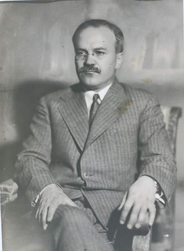 Вячеслав Молотов. Фото: Моисей Наппельбаум (1933 г.)