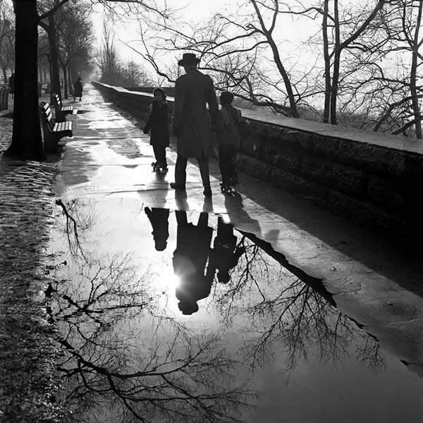 Потрясающие черно-белые фотографии Vivian Maier