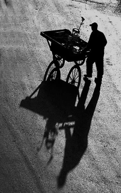 Потрясающие черно-белые фотографии Anonymous
