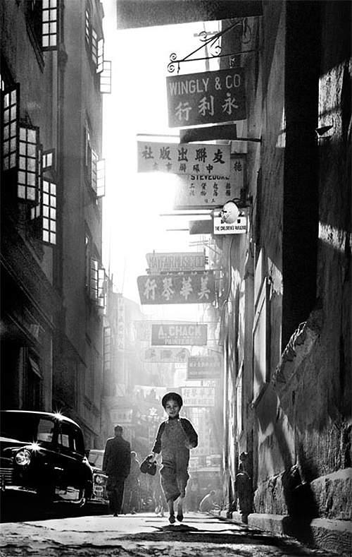 Потрясающие черно-белые фотографии Fan Ho