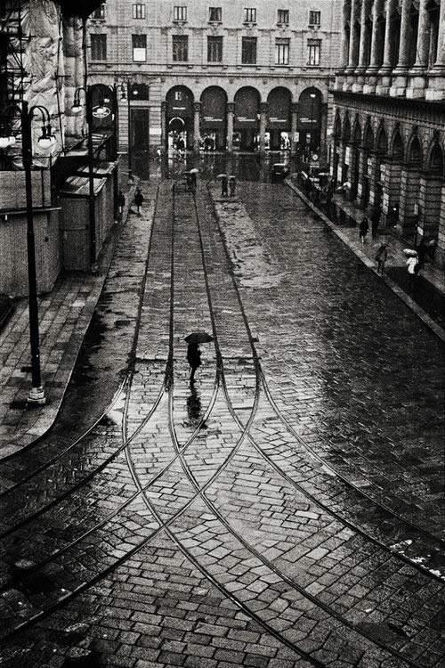 Потрясающие черно-белые фотографии Leonard Freed