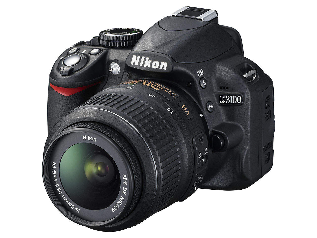 Основные характеристики Nikon D3100