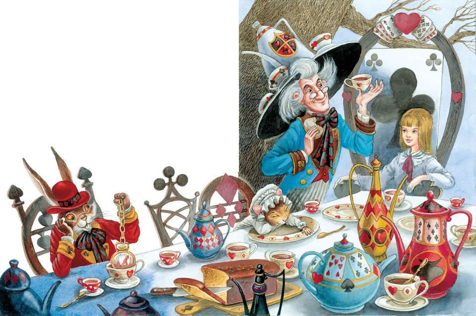 14_1 Алиса в стране чудес. Иллюстрации и иллюстраторы