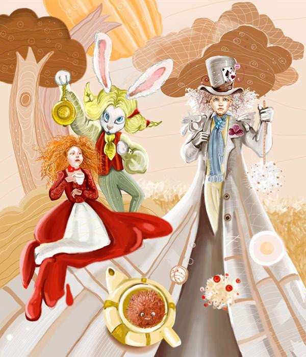 18_2 Алиса в стране чудес. Иллюстрации и иллюстраторы
