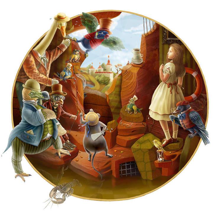 5_2 Алиса в стране чудес. Иллюстрации и иллюстраторы