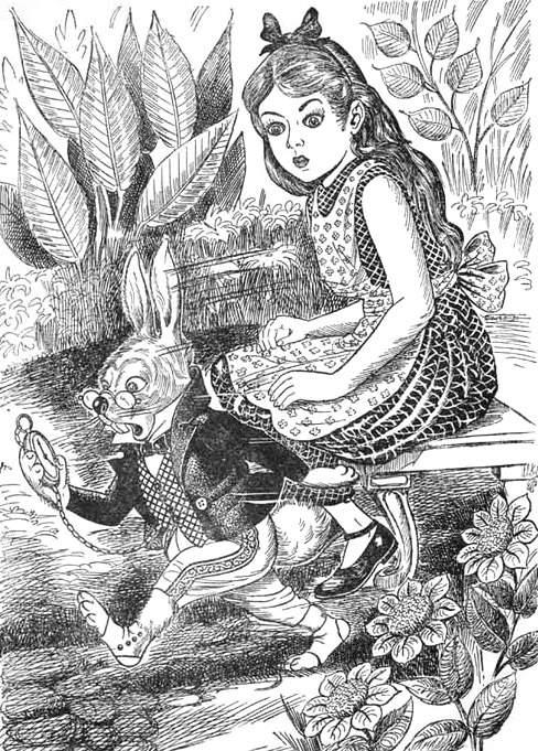 Алиса в стране чудес. Иллюстрации 10