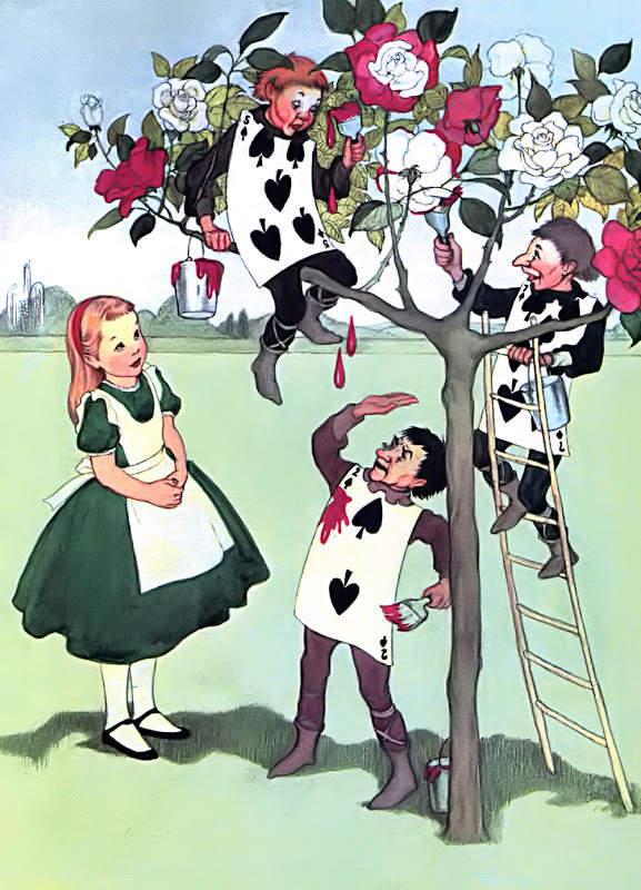 Алиса в стране чудес. Иллюстрации 11